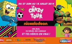 Crazy Tour Nickelodeon Junior