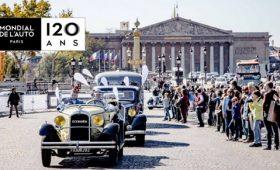 Les 120 ans du Mondial de l'Automobile