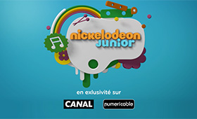 Nickelodéon Jr. sur Canal & Numéricable
